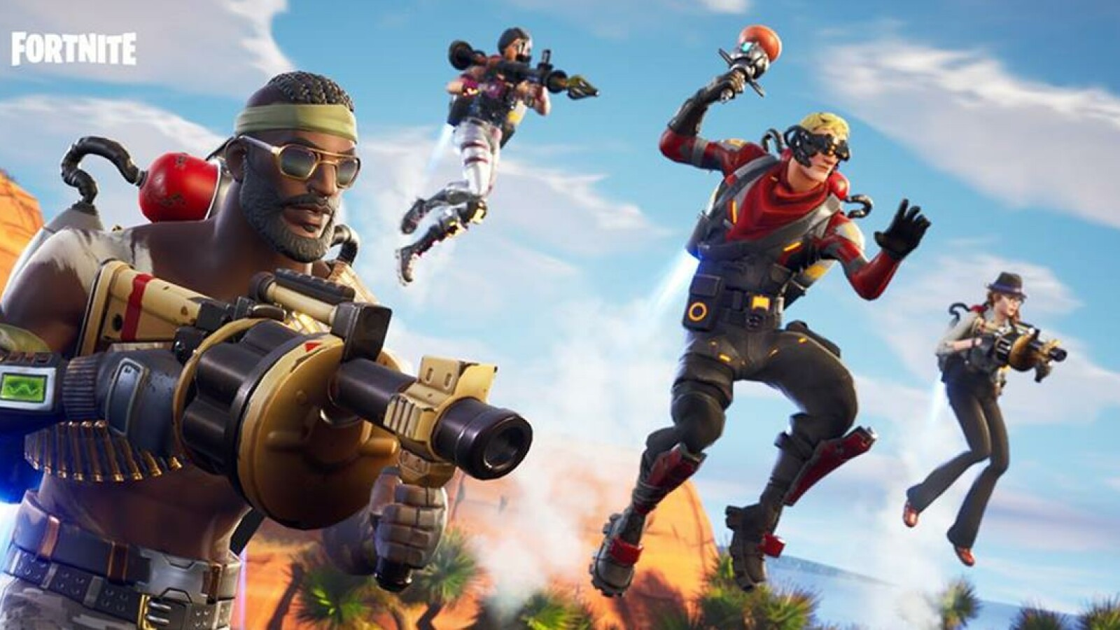 Fortnite Crossplay Auf Ps4 Xbox One Pc Ios Android Und Switch