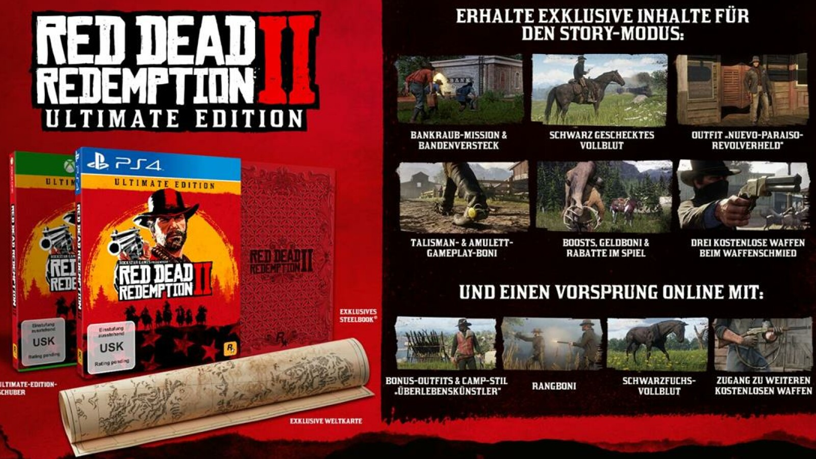 red dead redemption 2 ultimate edition content xbox one