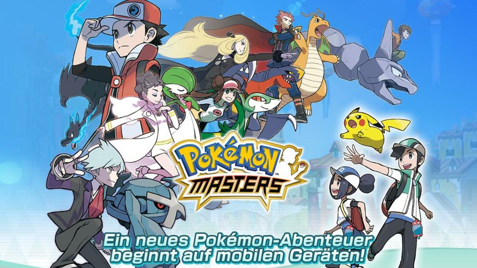 Pokémon Masters: Release-Termin, Platformen und Multiplayer