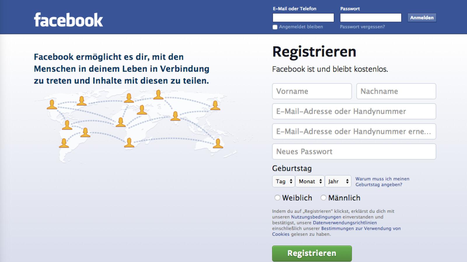 Facebook Zweites Profil