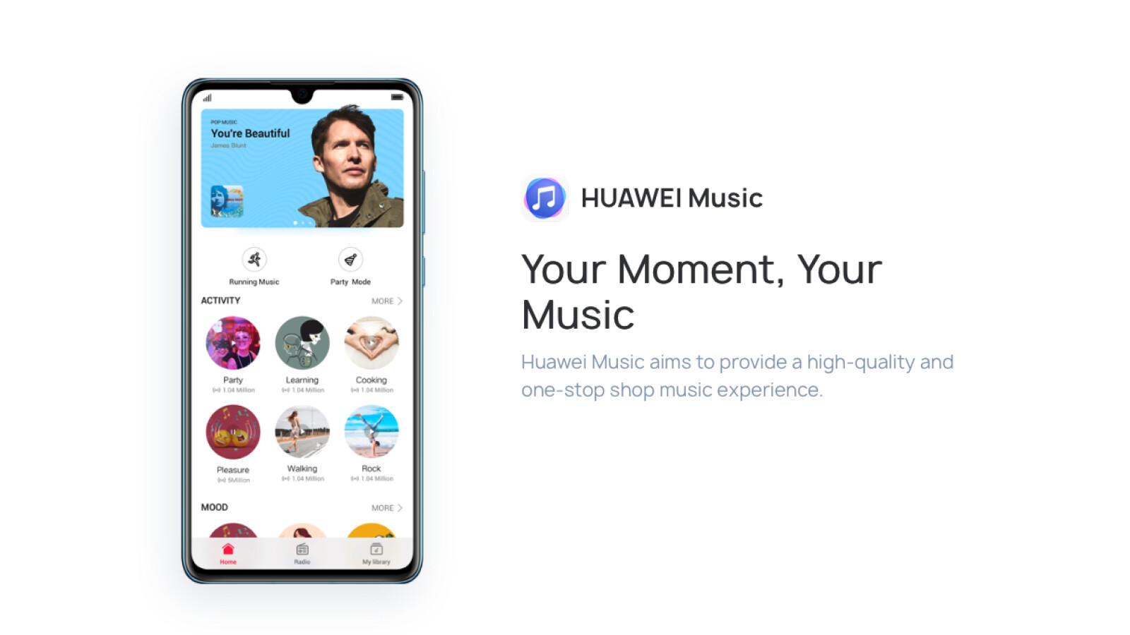 Huawei Music: Neuer Musik-Streaming-Dienst drei Monate kostenlos