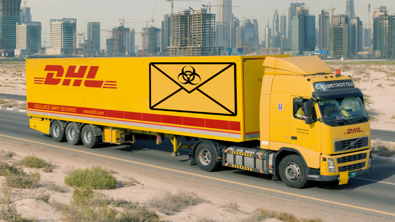 dhl paketank ndigung informationen zu ihrem paket ist phishing netzwelt. Black Bedroom Furniture Sets. Home Design Ideas