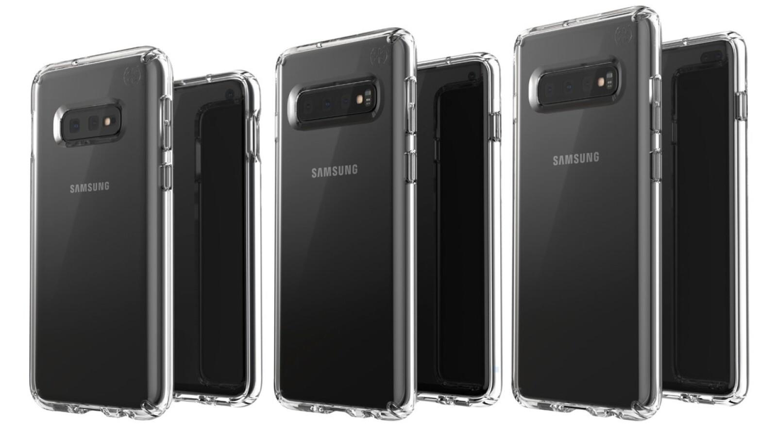 Galaxy S10E, S10 und S10+: evleaks veröffentlicht Bild des Handy-Trios