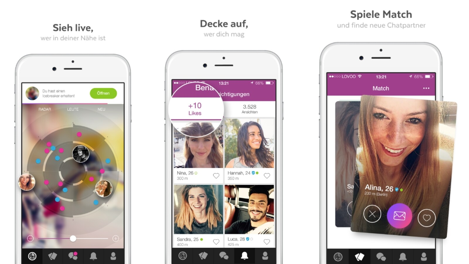 Lovoo alle likes verbraucht