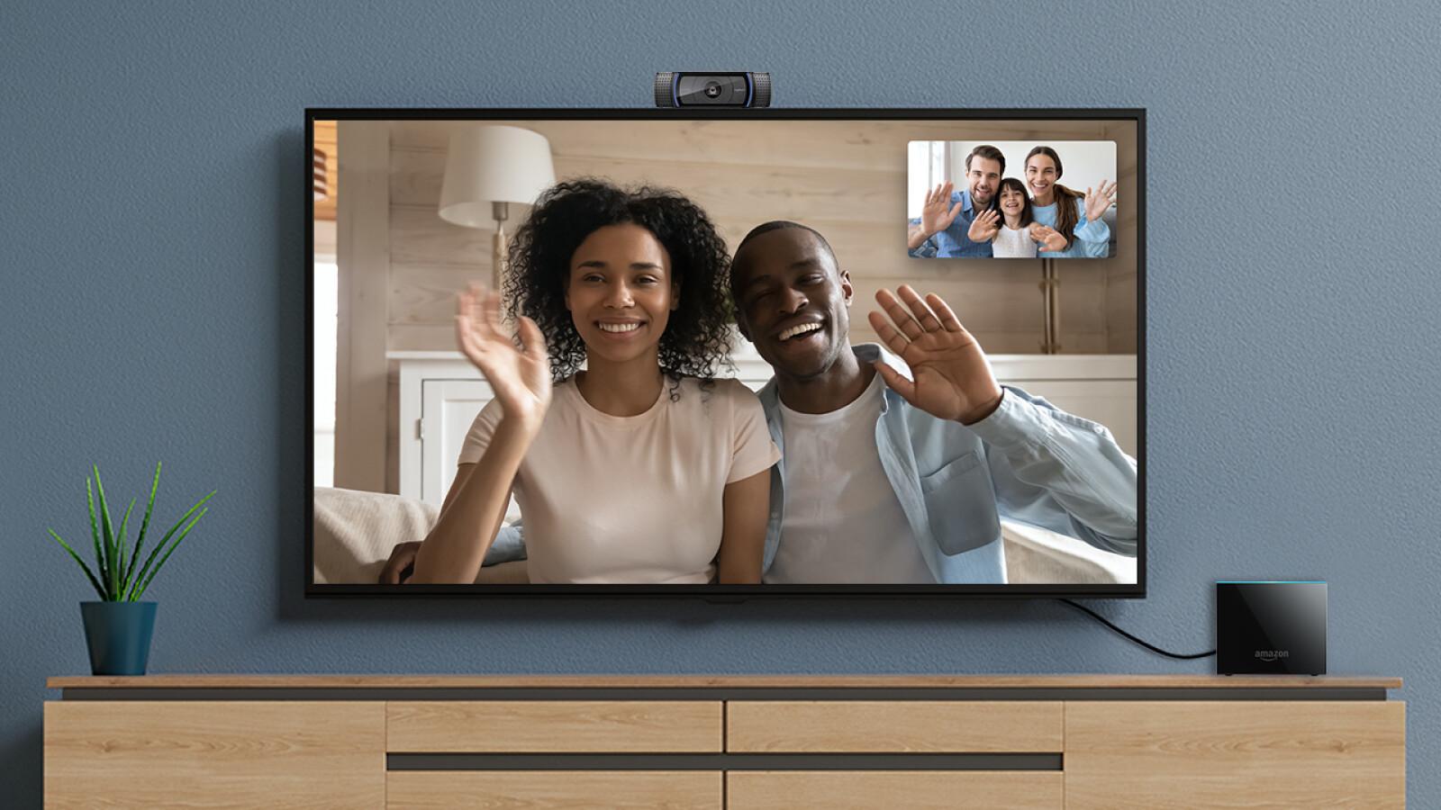 Videotelefonie mit dem Fire TV Cube: Diese Webcams sind kompatibel
