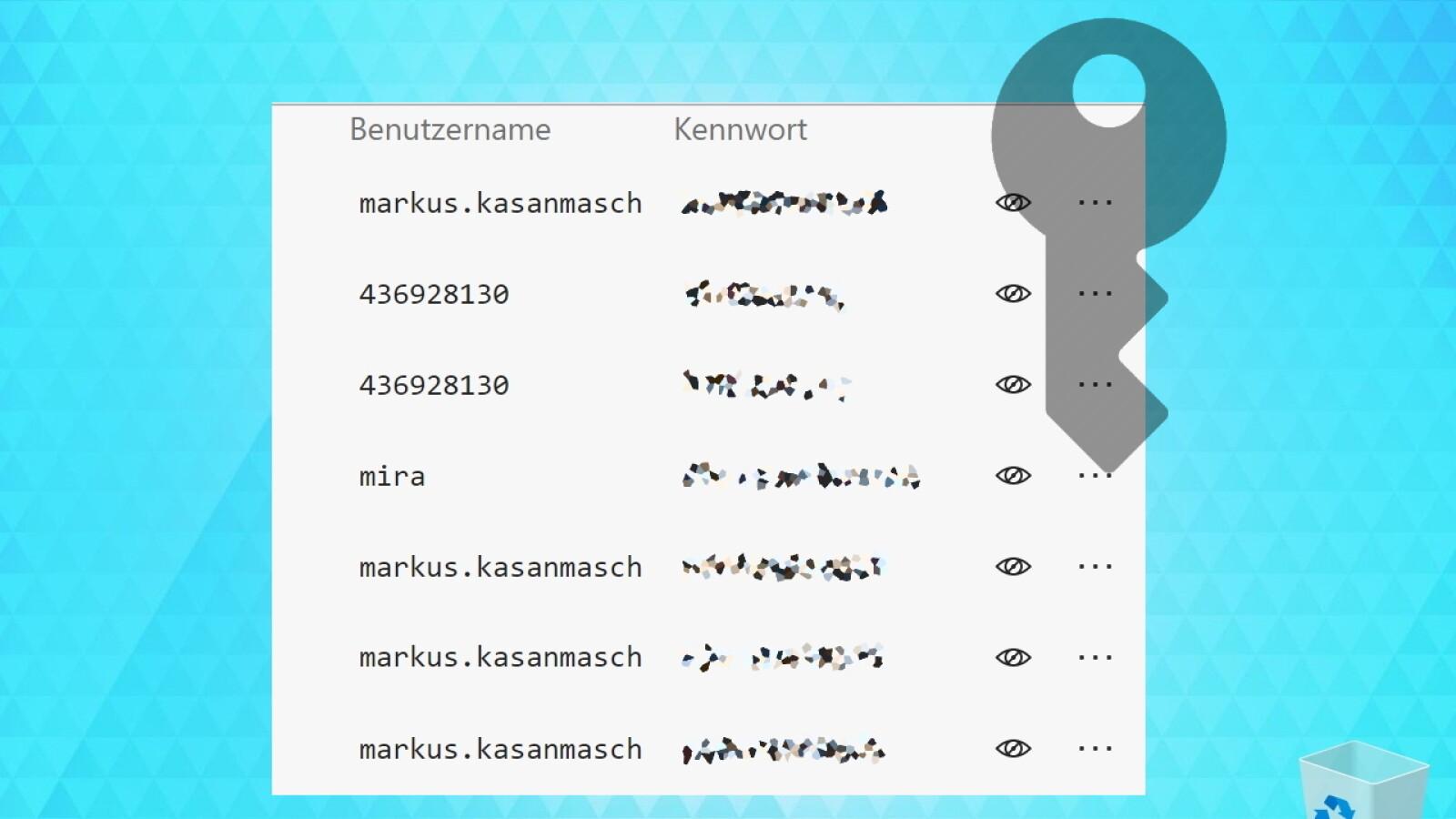 Nicht Gespeicherte Passwörter Auslesen