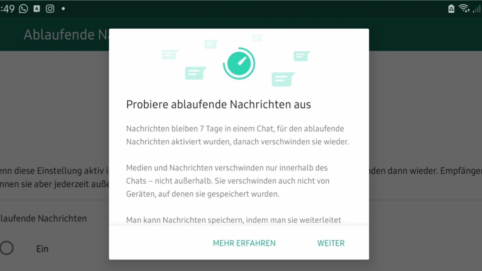 Whatsapp Zeigt Nachricht An Aber Keine Da