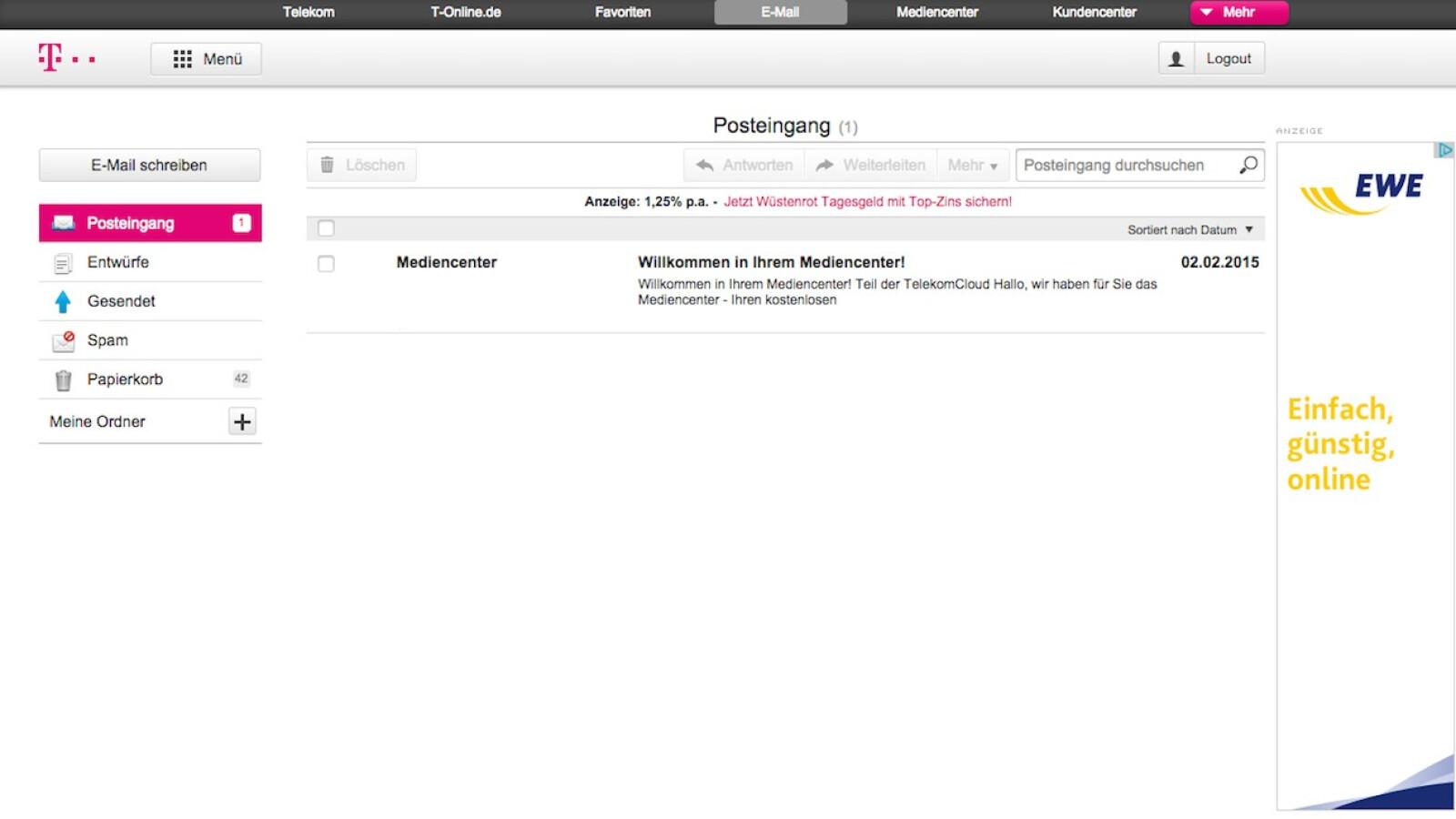 Email Postfach Der Telekom