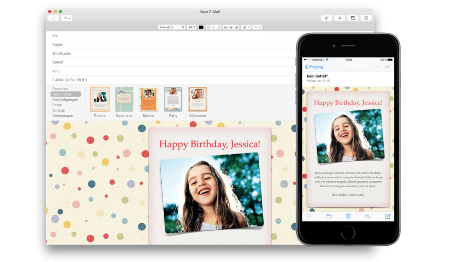 OS X: Vorlagen in Mail erstellen und nutzen - NETZWELT