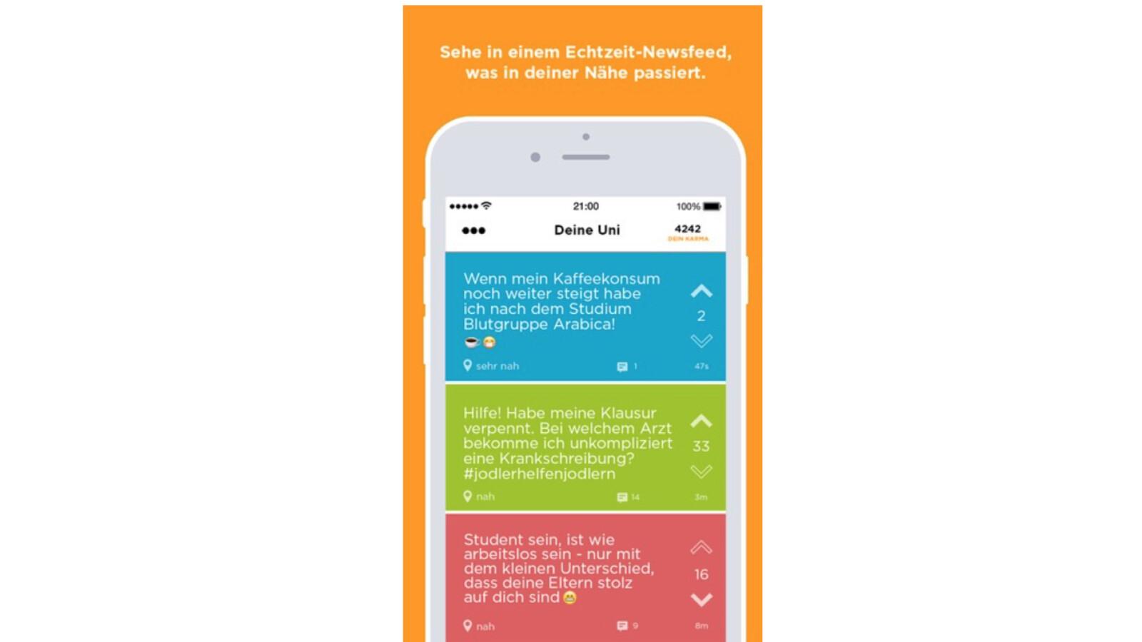 Jodel-App für anonymen Gedankenaustausch - so funktioniert
