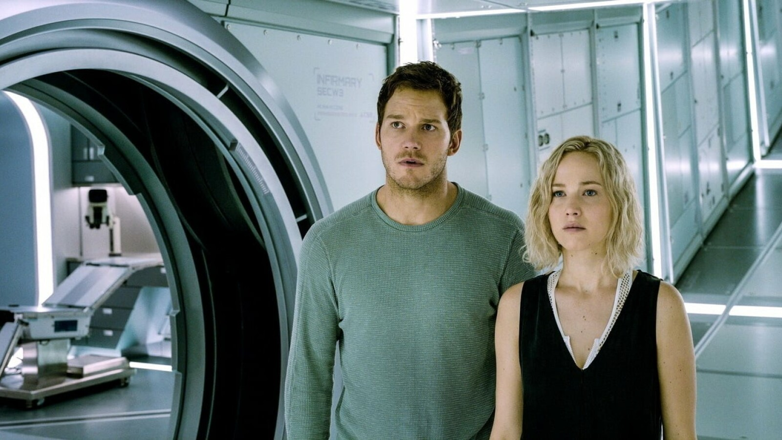 """Passengers"": Weltraum-Quarantäne ab sofort bei Amazon Prime Video"