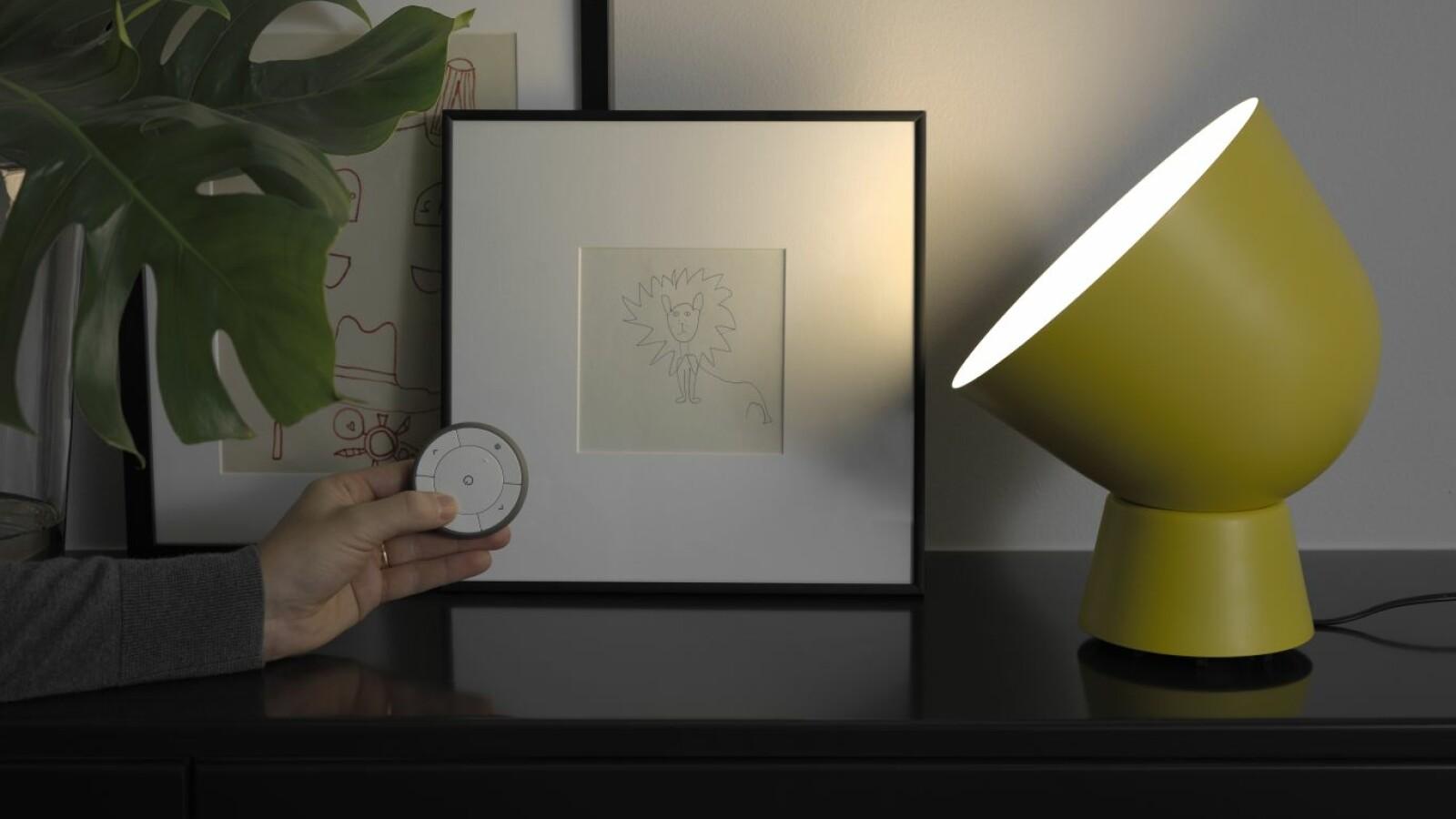 tradfri spricht mit siri und alexa ikea lampen werden. Black Bedroom Furniture Sets. Home Design Ideas