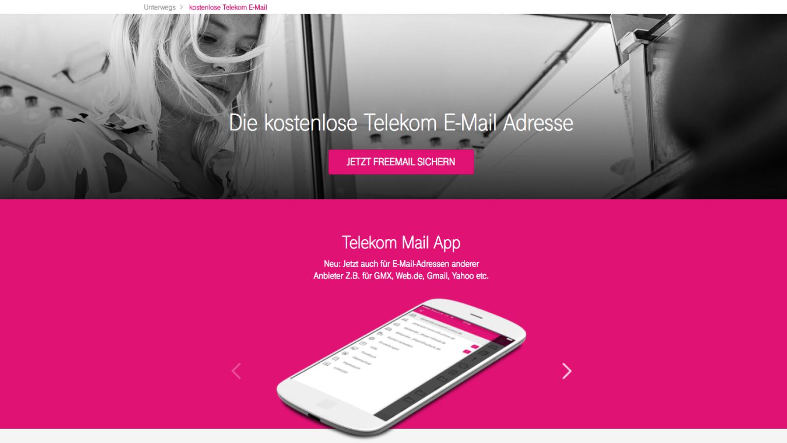 telekom mail im test kostenloses postfach von t online netzwelt. Black Bedroom Furniture Sets. Home Design Ideas