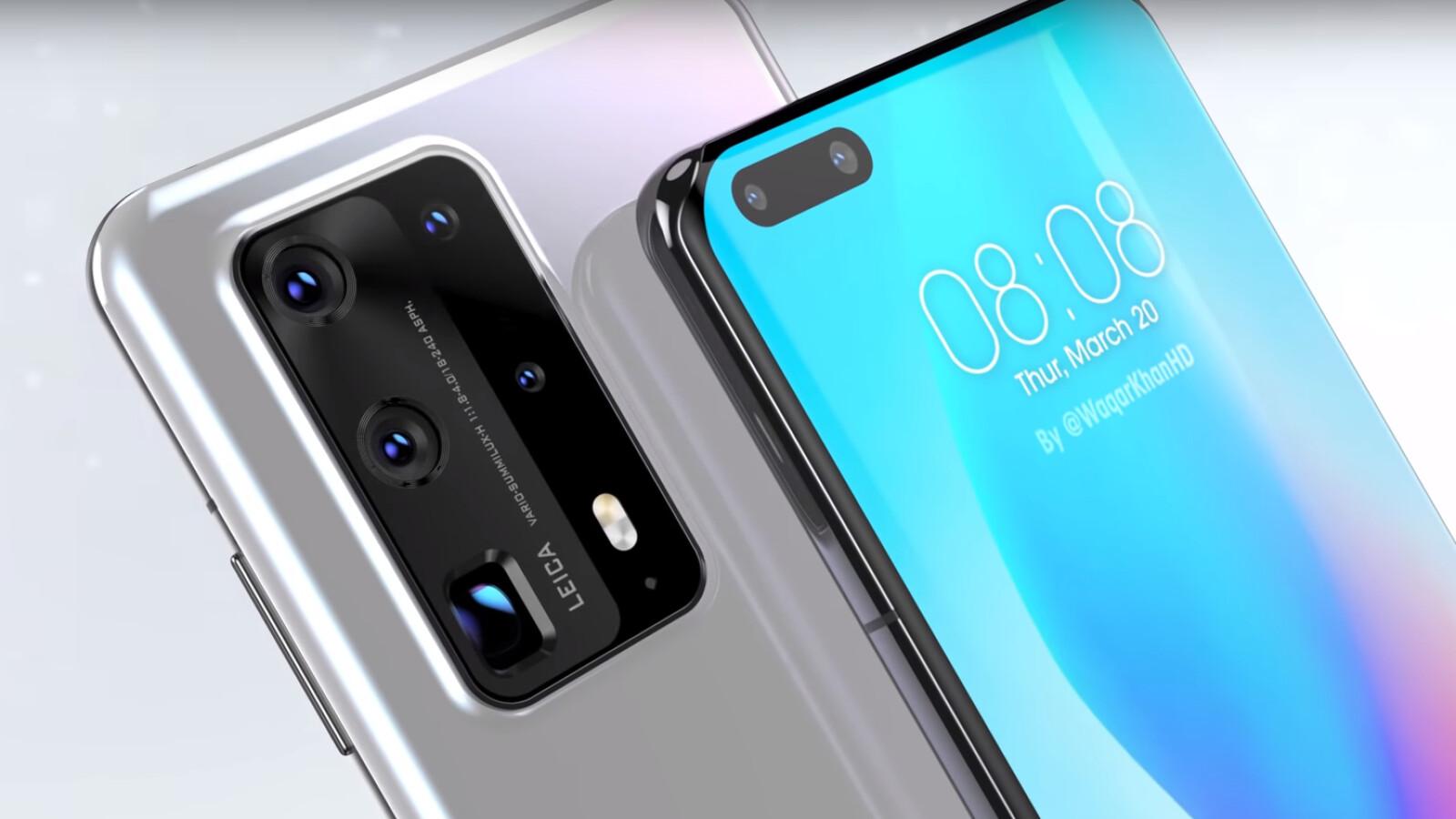 Huawei P40 Pro: new camera details confirm sensor resolution ...