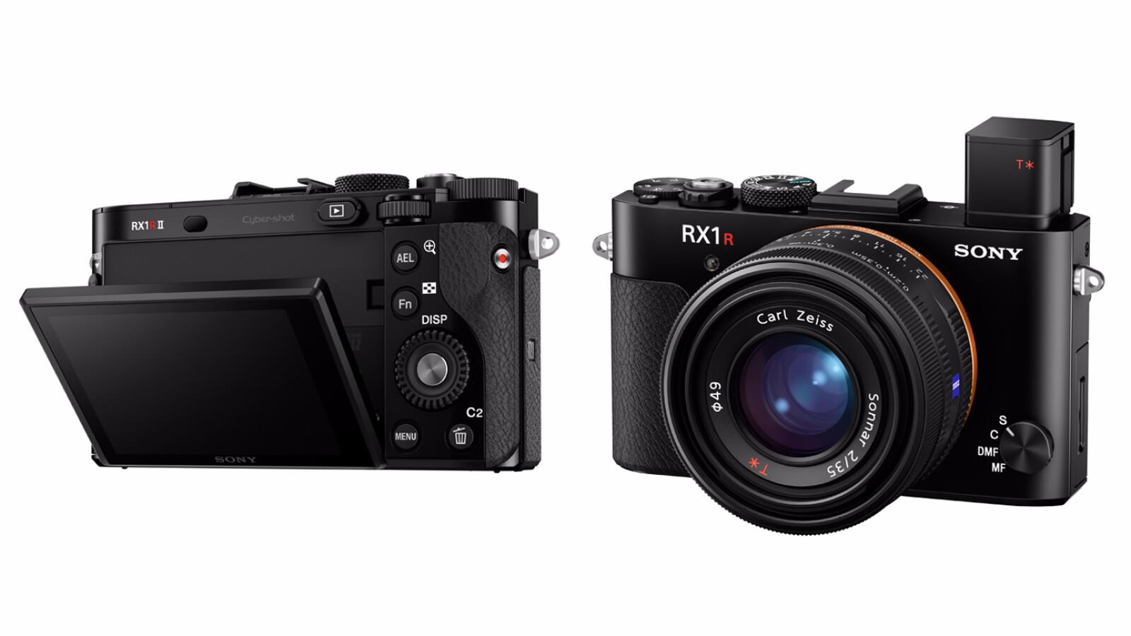 Sony DSC-RX1R II: Premium-Kompaktkamera mit 40-Megapixel-Vollformat ...