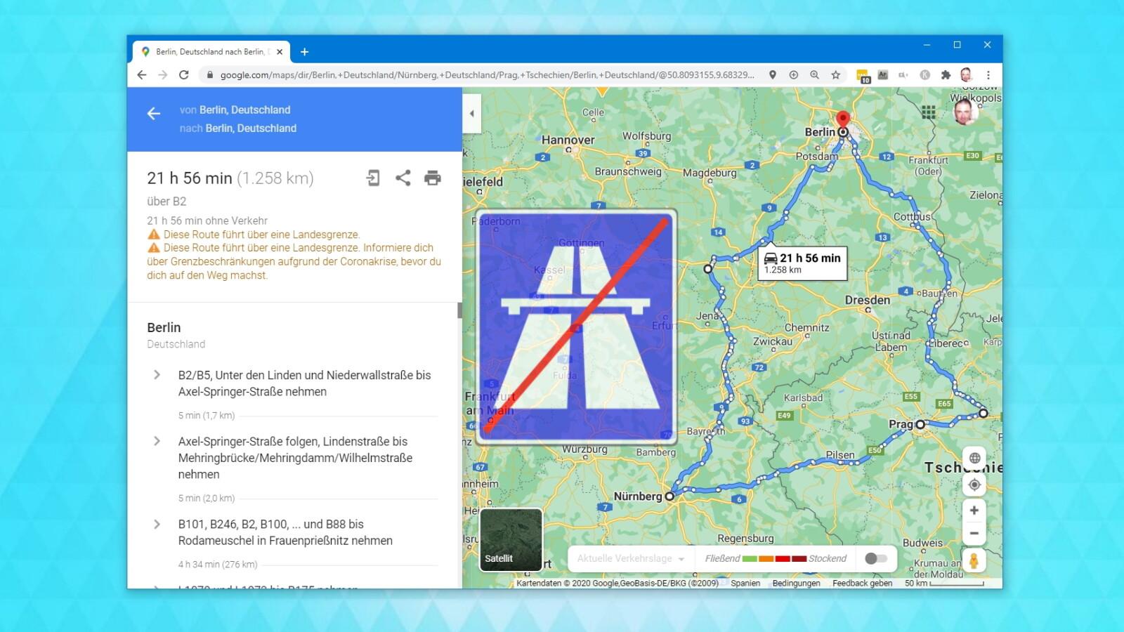 Google Maps: Routen ohne Autobahn berechnen - So gehts | NETZWELT