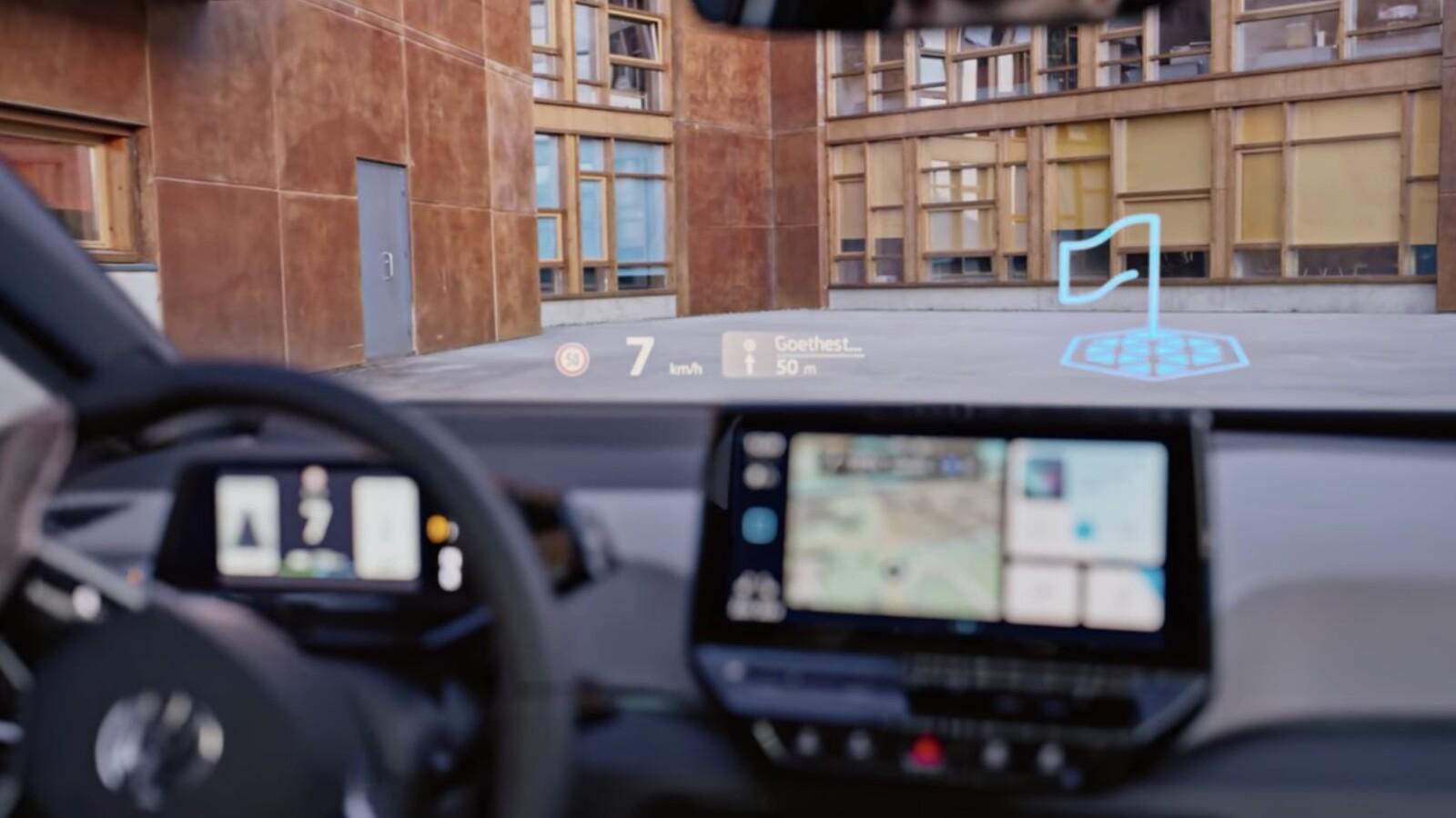 VW ID.3: Videos des Head-Up-Displays sorgen für Verzückung