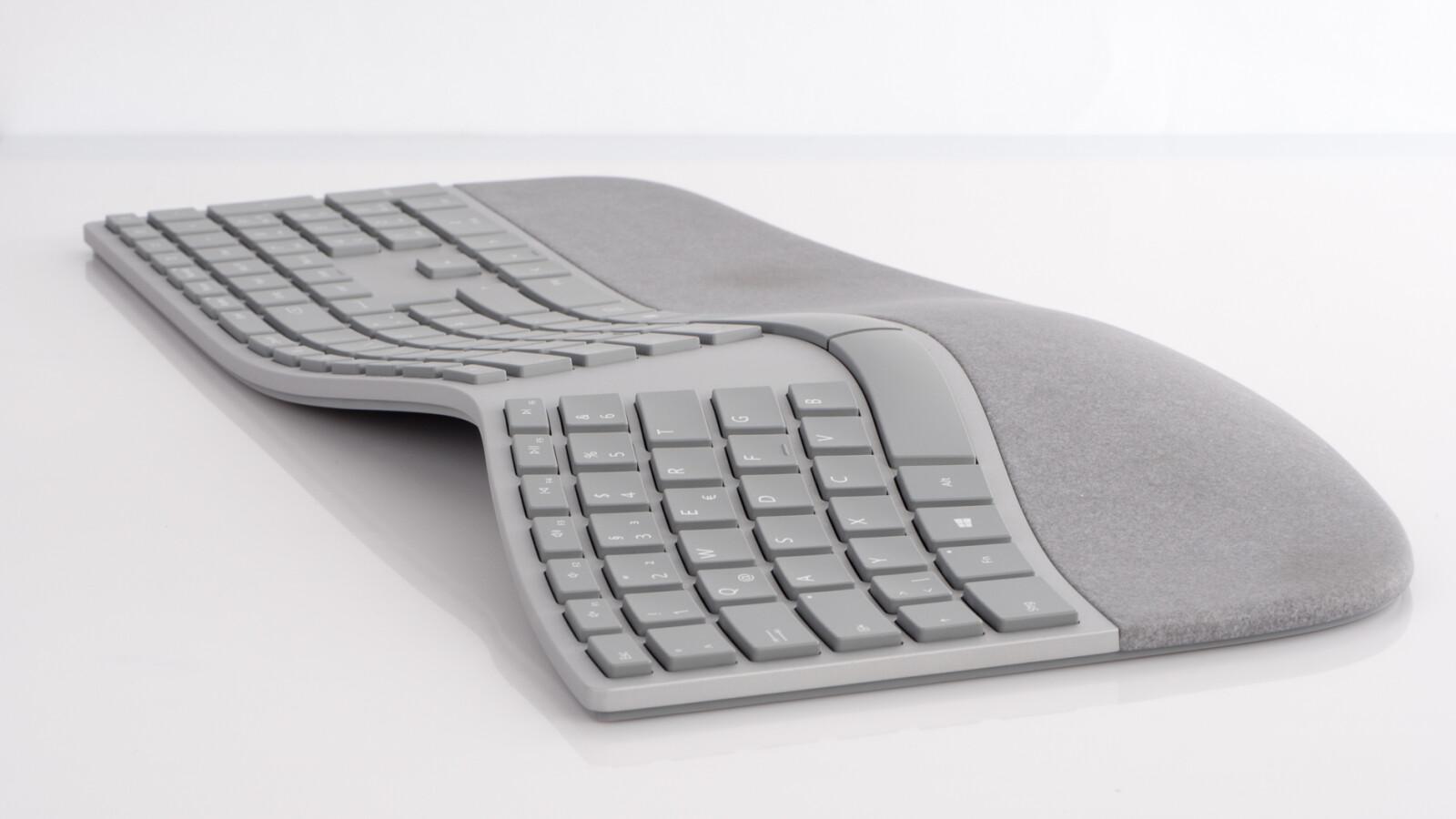 microsoft surface ergonomic keyboard im test diese. Black Bedroom Furniture Sets. Home Design Ideas