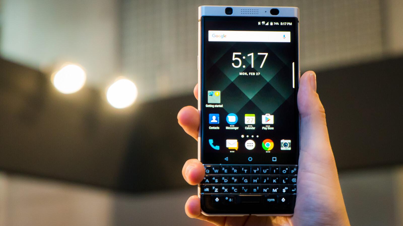 Blackberry Keyone Android 81 Update In Deutschland Verfgbar Netzwelt