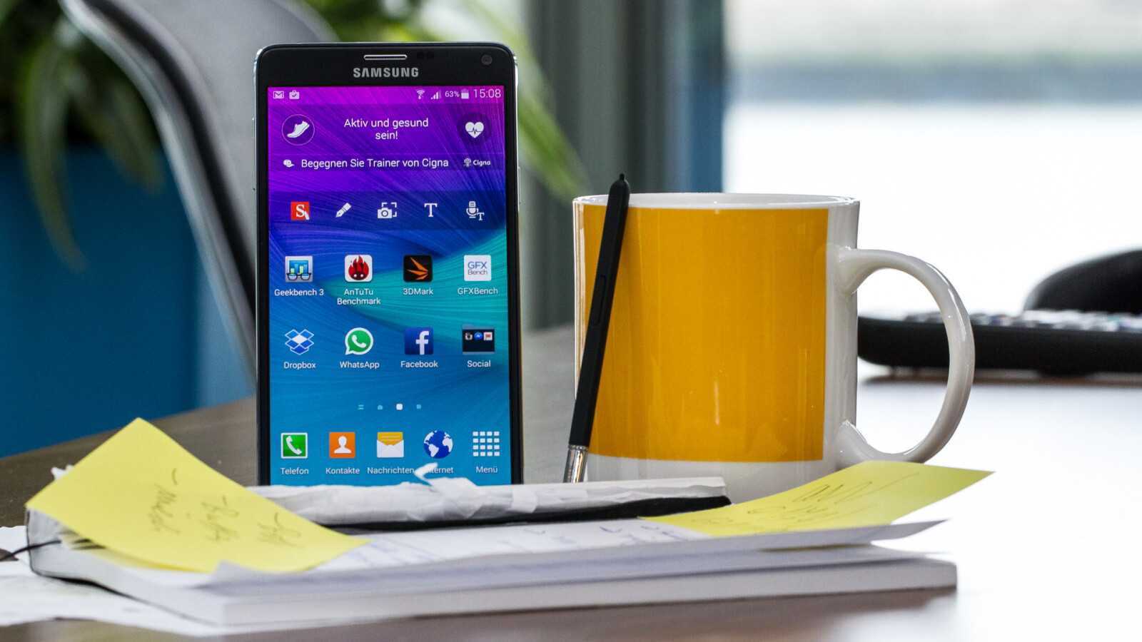 Galaxy Note 4: Android 6.0-Update jetzt auch für O2-Geräte verfügbar