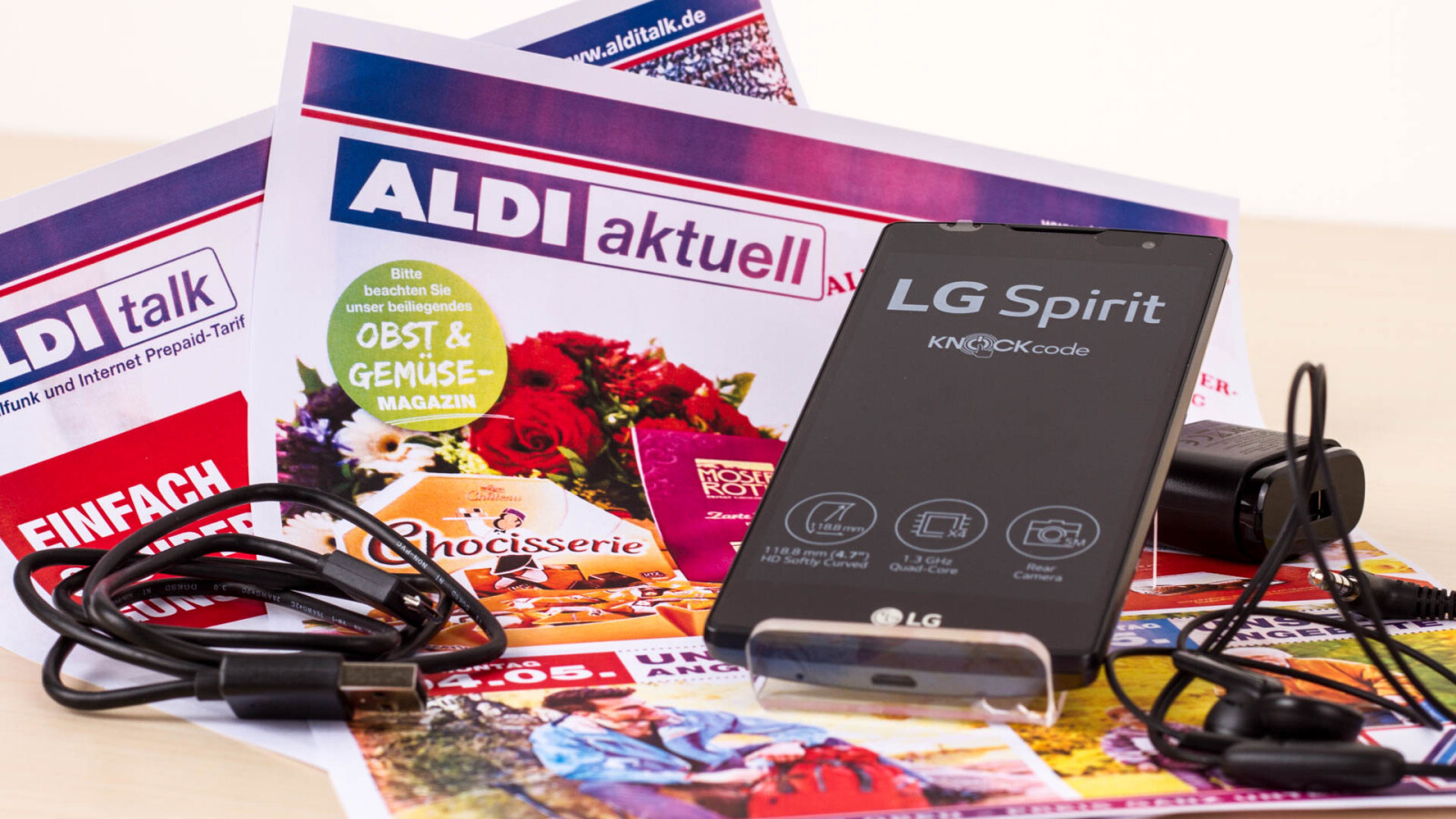 lg spirit im test aldi smartphone ausprobiert lohnt. Black Bedroom Furniture Sets. Home Design Ideas