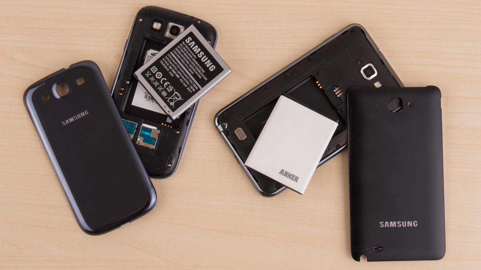 Smartphones mit austauschbarem Akku - NETZWELT