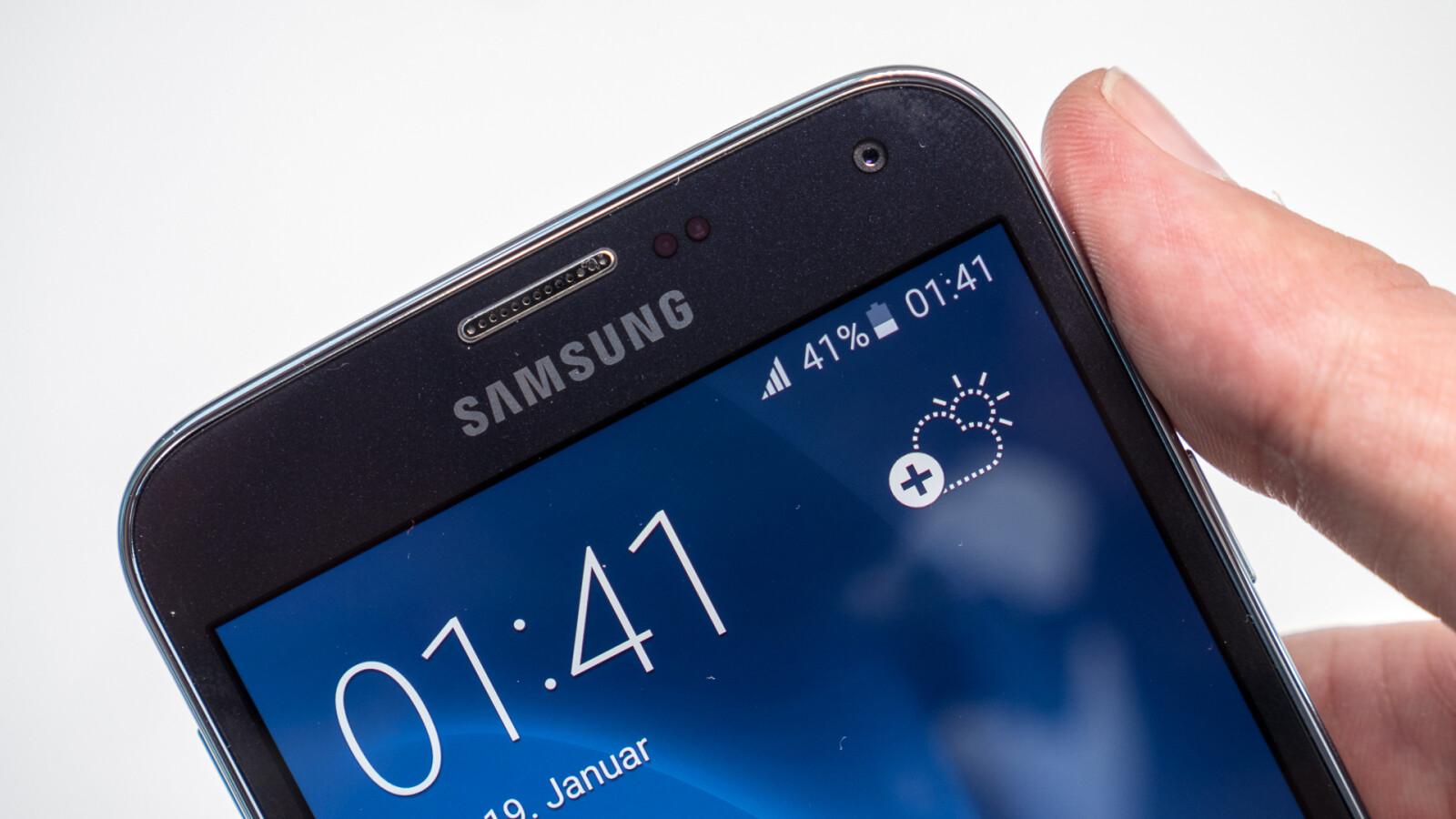 So deaktivieren Sie den Standortverlauf beim Samsung Galaxy S5.