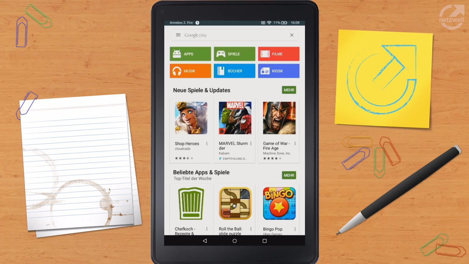 Google Play Store Auf Fire Tablet Installieren