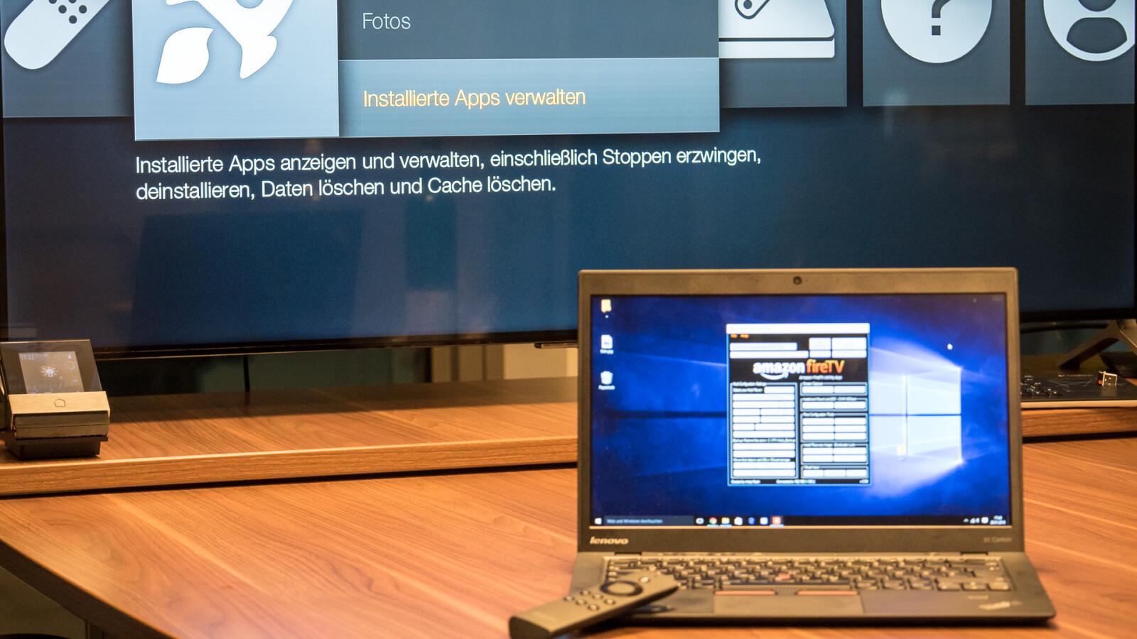 amazon fire tv android apps via windows pc installieren netzwelt