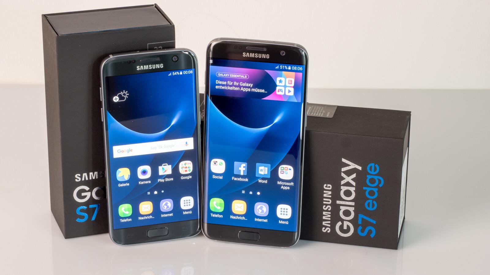 Galaxy S7 Im Test Glorreiche Sieben Oder Setzen Sechs Netzwelt Samsung Edge 32 Gb Smartphone Coral Blue
