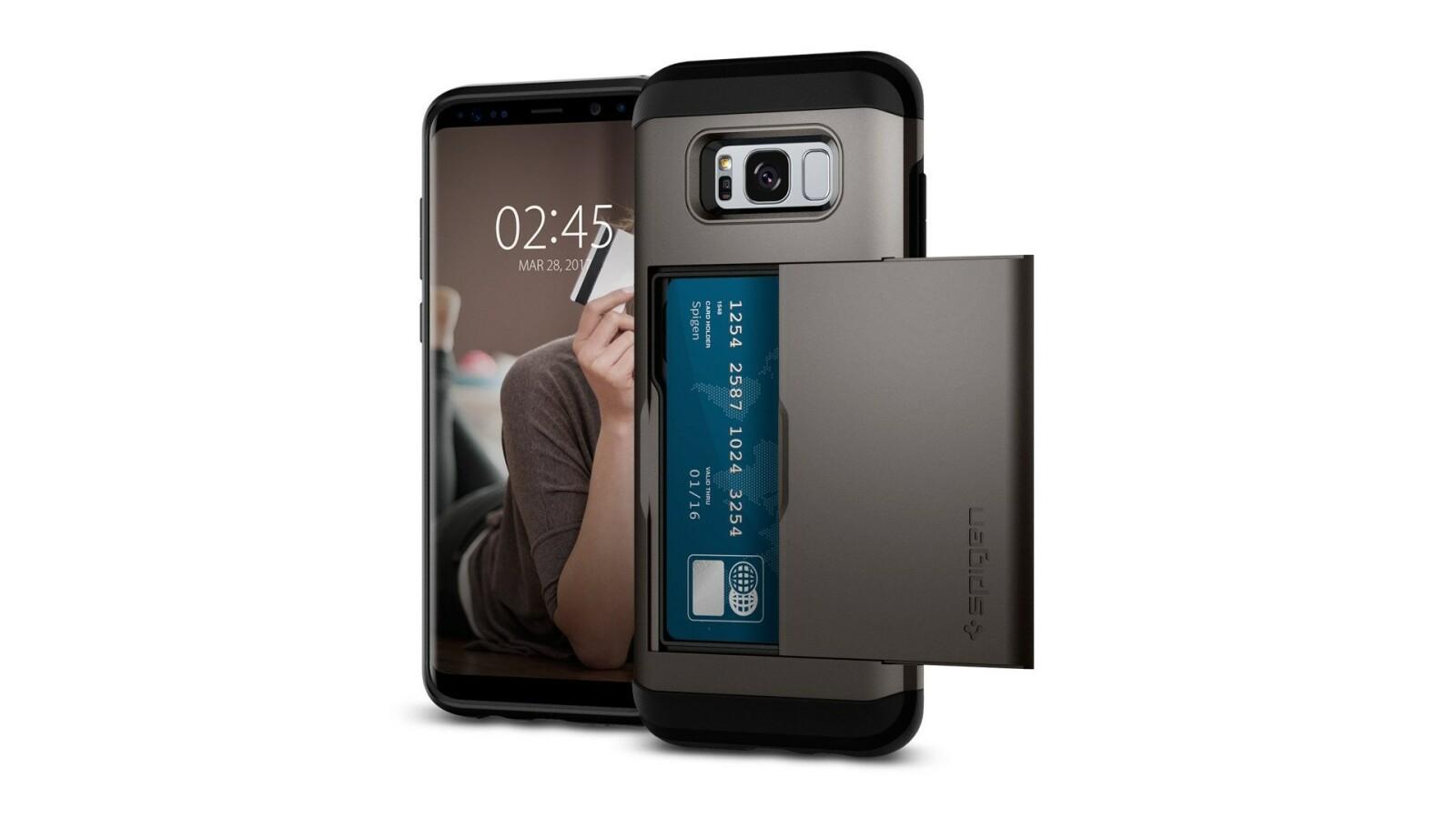 Galaxy S8 Plus Spigen Stellt 9 Neue Hllen Und Cases Vor Netzwelt Note Case Slim Armor Crystal Original Clear