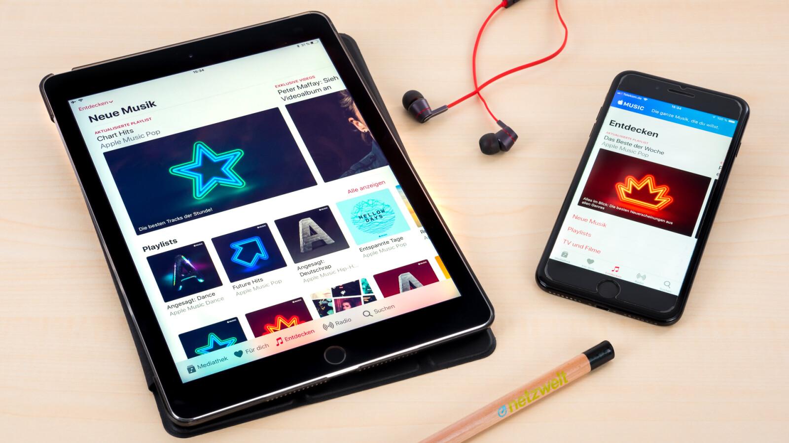 Apple Music im Test: Das kann der Streaming-Dienst mit Apfel-Logo ...