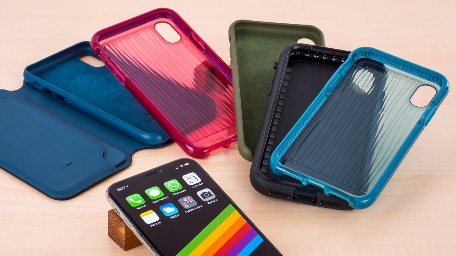 Schutzhllen Fr Das Iphone X Im Test Diese 8 Cases Empfehlen Wir Spigen Case Wallet S Leather Original Casing Netzwelt