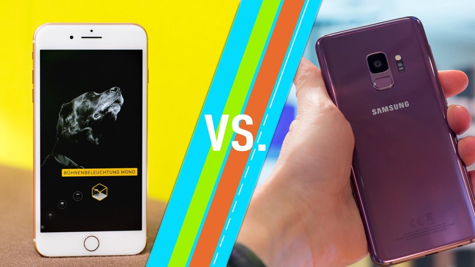 Iphone 8 Vs Galaxy S9 Premium Smartphones Im Vergleich Netzwelt