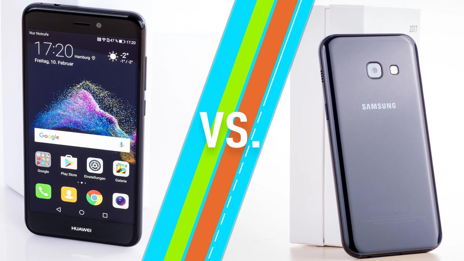 Huawei P8 Lite 2017 Vs Galaxy A3 2017 Mittelklasse Smartphones Im Vergleich Netzwelt