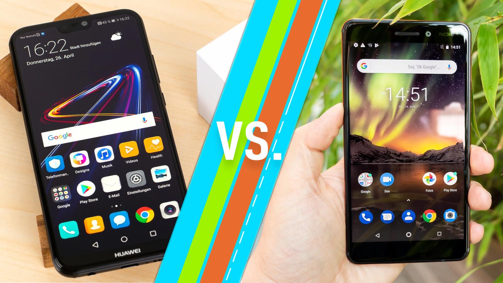 Huawei P20 lite vs. Nokia 20.20 Welches Gerät bietet mehr   NETZWELT