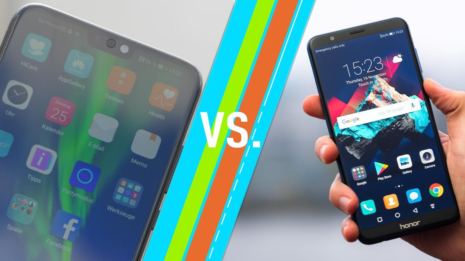 Honor 8X vs  Honor 7X: So unterscheiden sich die Handys