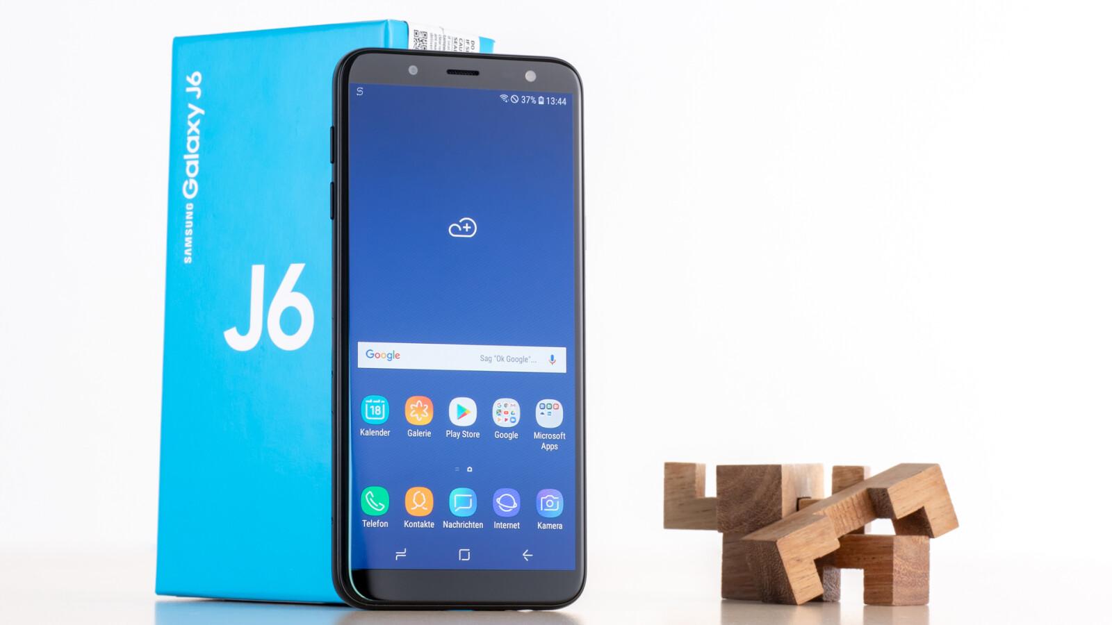 Samsung Galaxy J6 Duos Im Test Das Kann Das Gunstige Galaxy S9