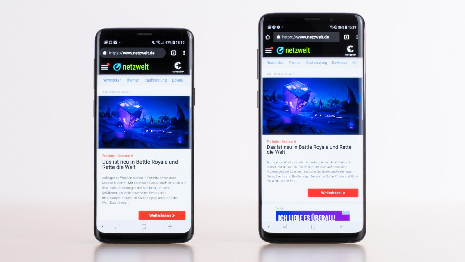 Samsung Galaxy S9: So stehen die Chancen auf Android 11