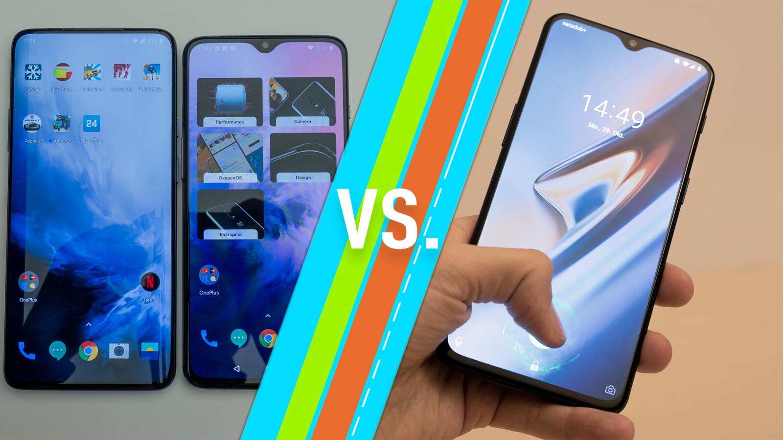OnePlus 7 (Pro) vs. OnePlus 6T: Oberklasse-Handys im Vergleich