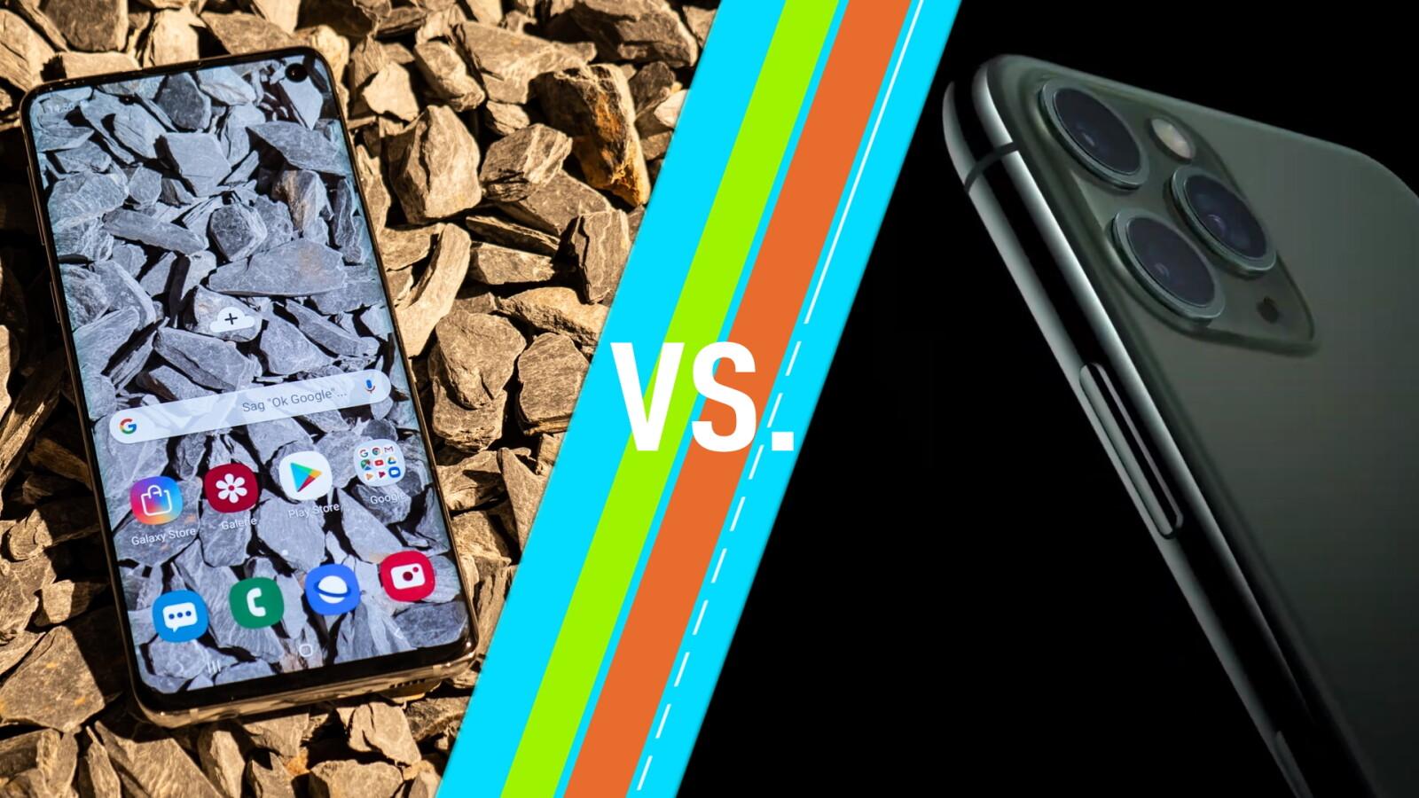 Apple iPhone 11 vs. Samsung Galaxy S10: Das sind die Unterschiede