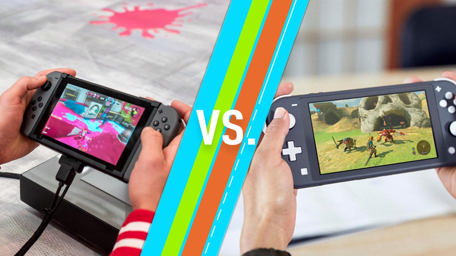 Nintendo Switch vs. Switch Lite: Vergleich zeigt wichtige Unterschiede