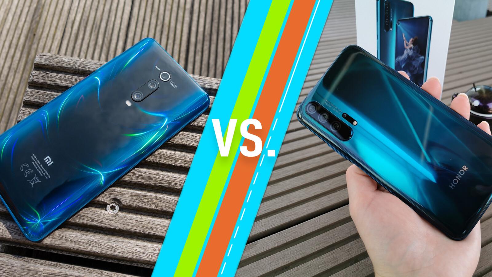 Xiaomi Mi 9T (Pro) vs. Honor 20 (Pro): Das sind die Unterschiede