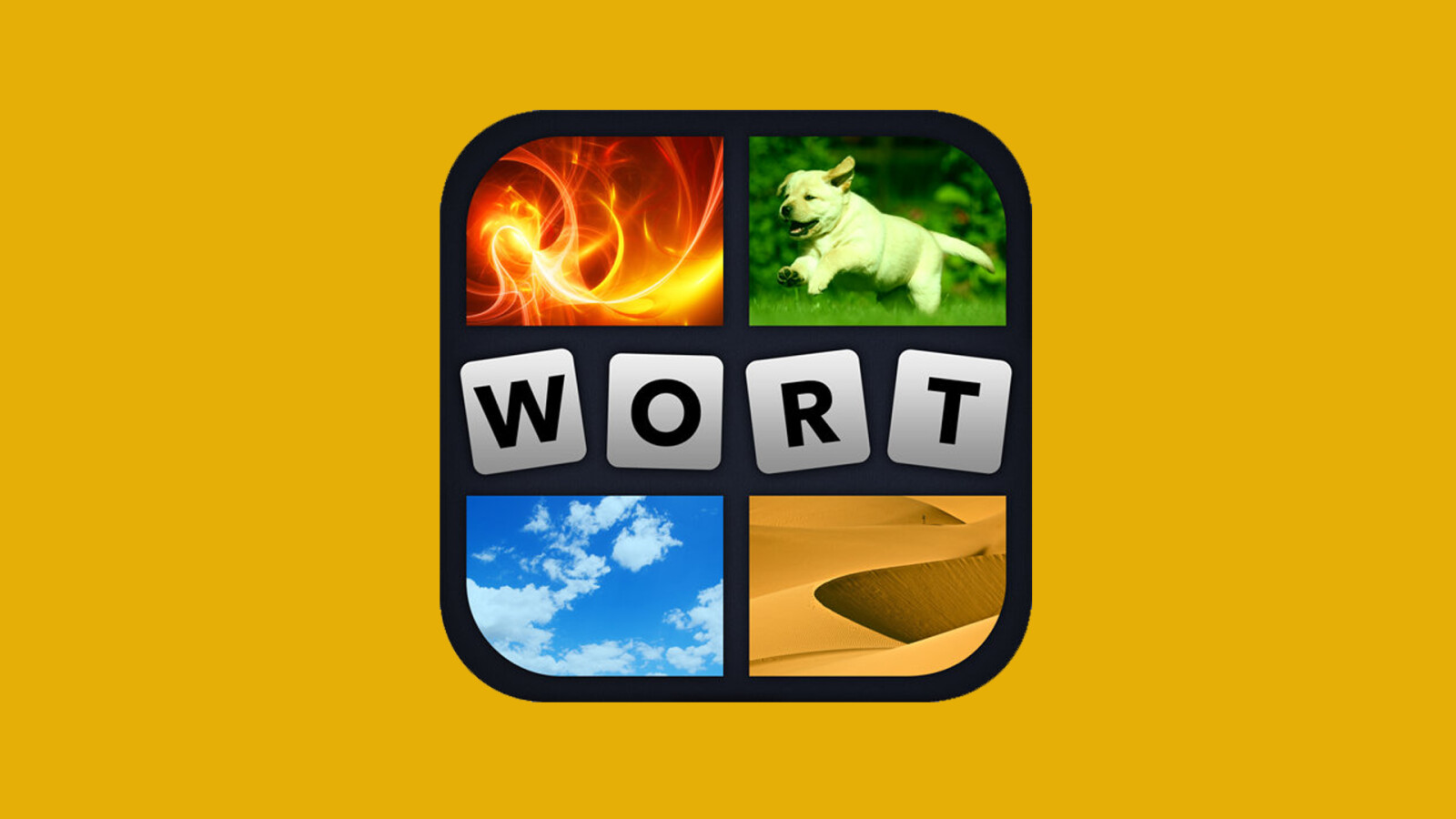 App 4 Bilder 1 Wort