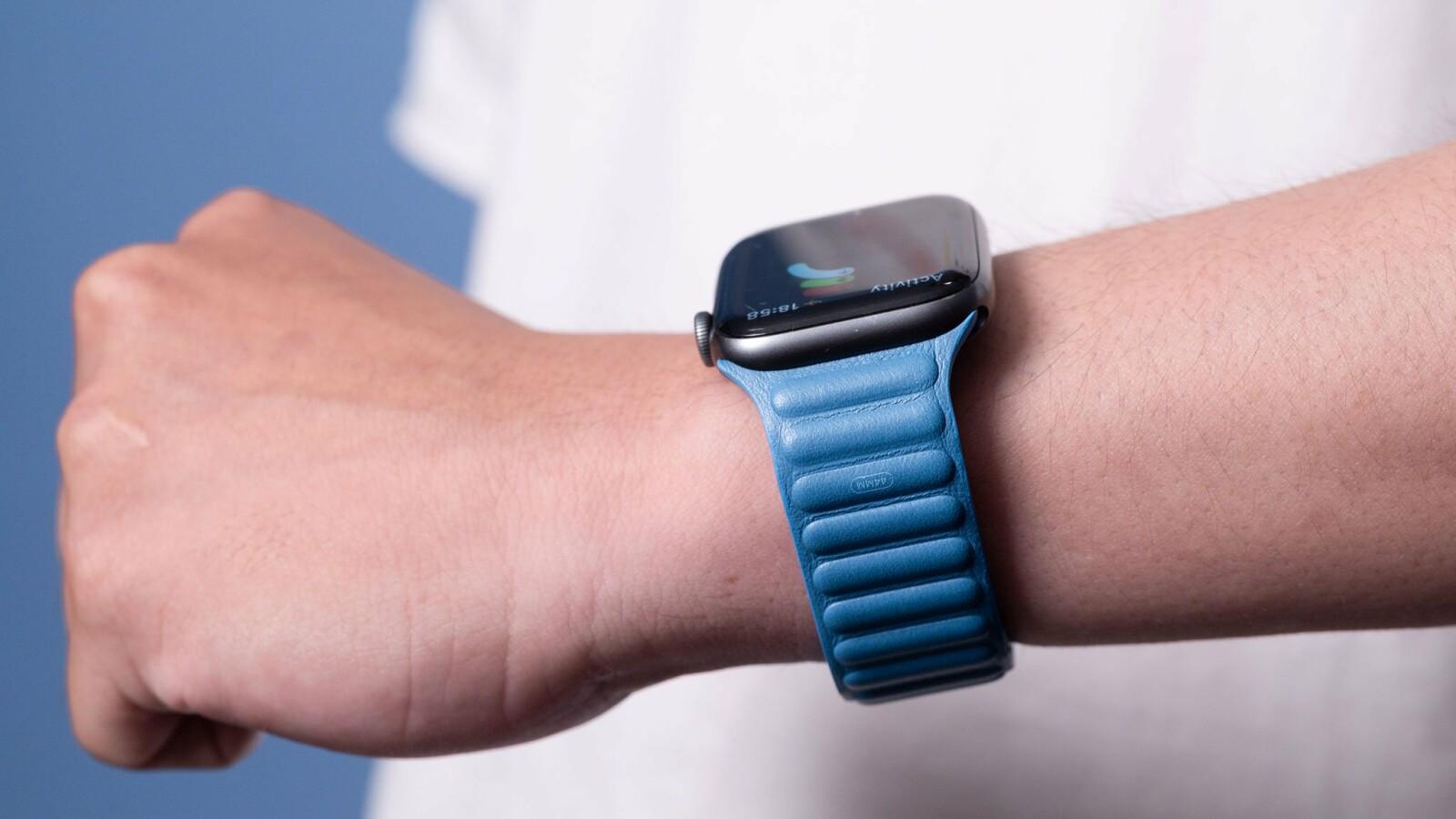Apple Watch 6: Neues Lederarmband setzt erste Duftnote
