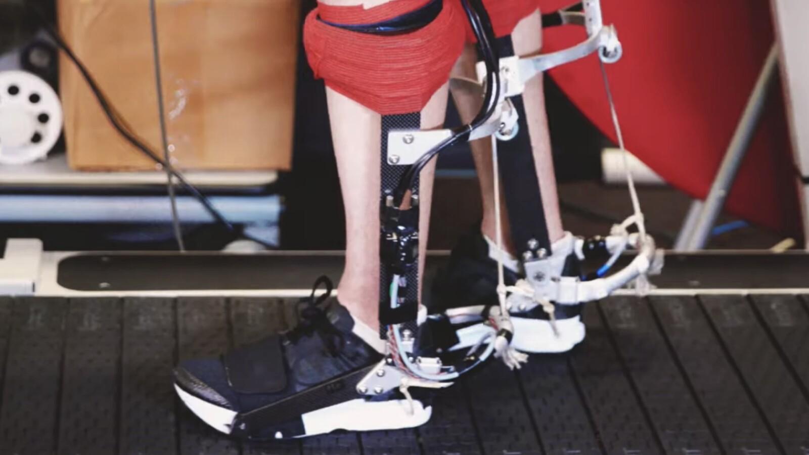 Ein E-Bike für die Füße: Stanford-Erfindung unterstützt aktiv beim Laufen
