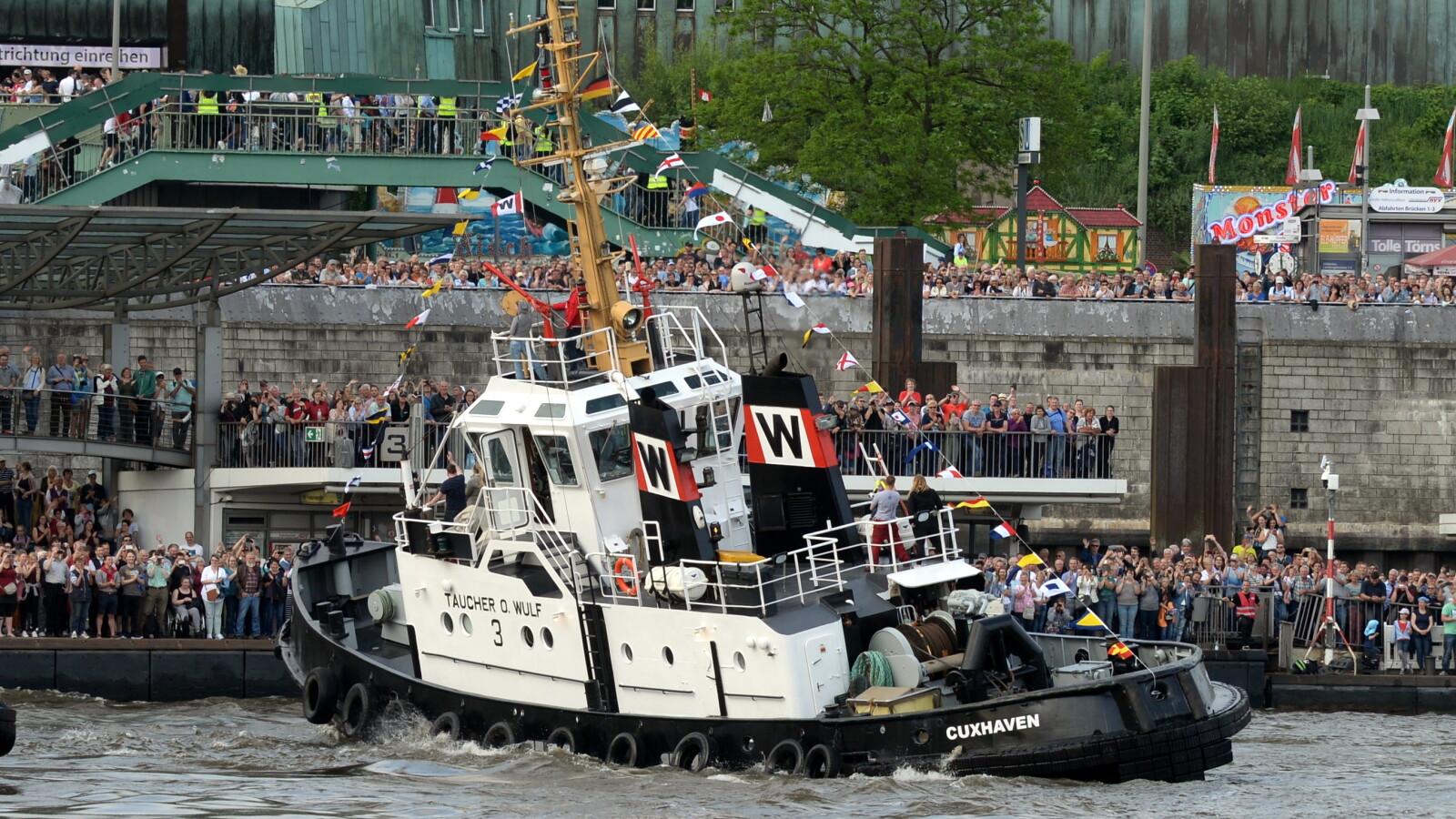 Hamburger Hafengeburtstag 2019: Auslaufparade Im Live
