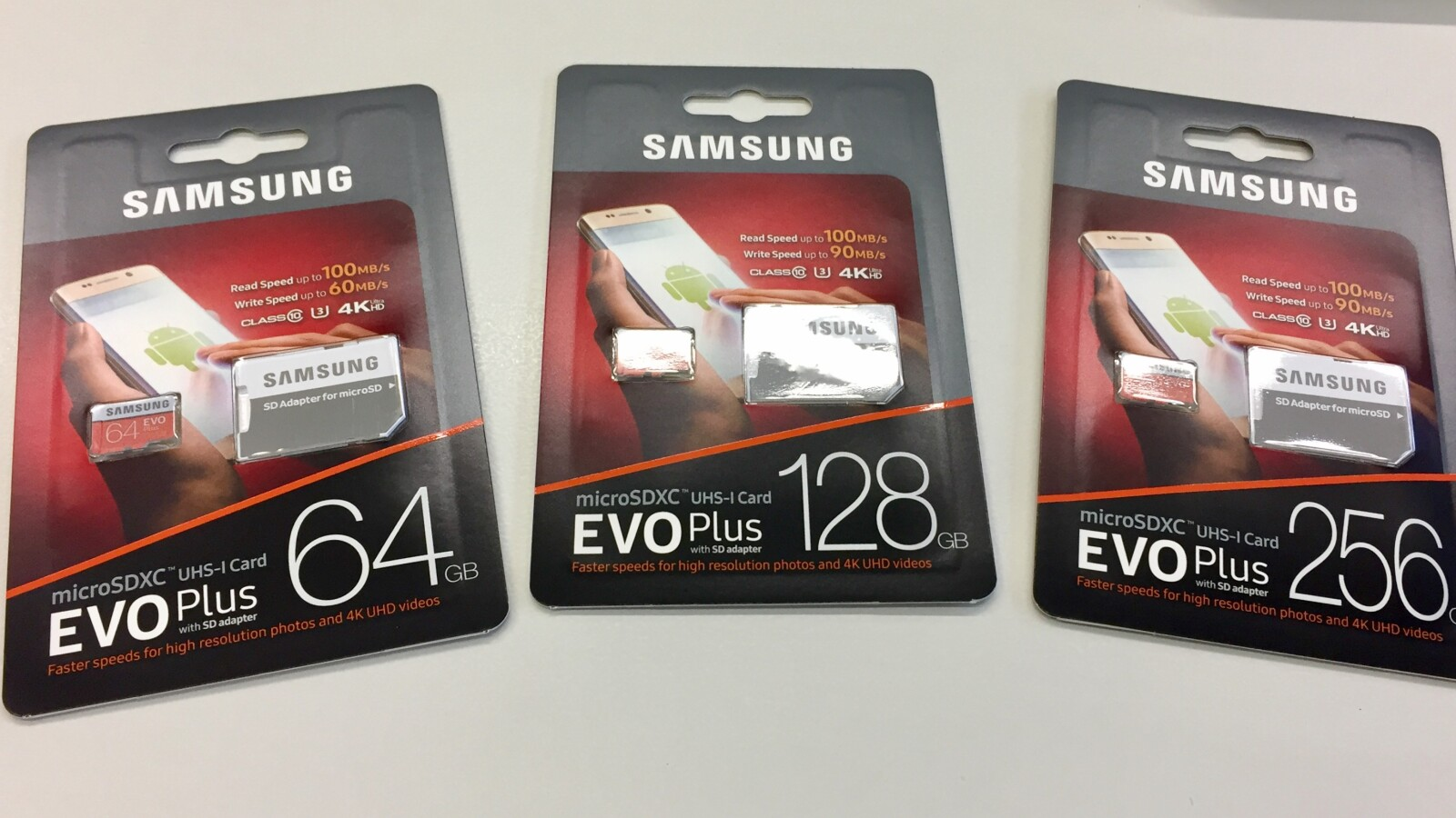Samsung Evo Plus 2017 Im Test Mehr Speed Fr Die Kleinen Netzwelt Sandisk Extreme Microsdhc Card Uhs I 3 Class 10 4k 90mb S 32gb
