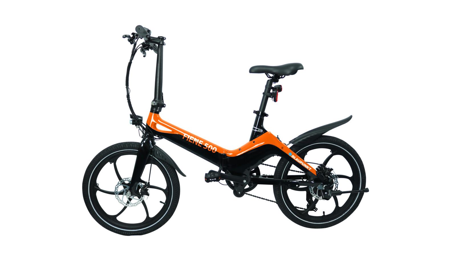 Falt-E-Bikes Blaupunkt Fiete 500 und Fiene 500: Nagelneu, zum halben Preis