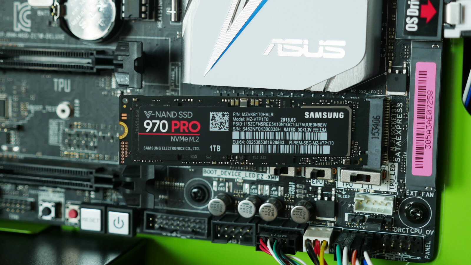 Samsung 970 PRO in the first test: the new professional